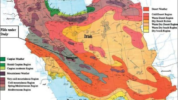 iran weather
